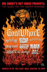 Big Daddy's Hot Sauce Presents Goatwhore!