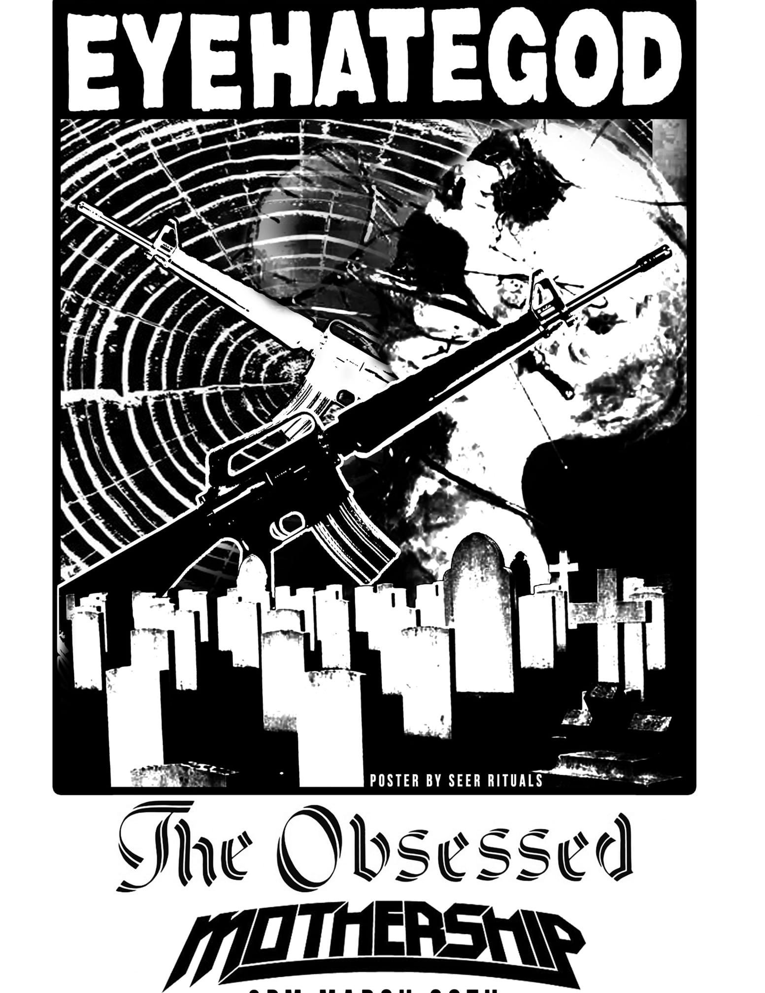 EYEHATEGOD, THE OBSESSED, MOTHERSHIP