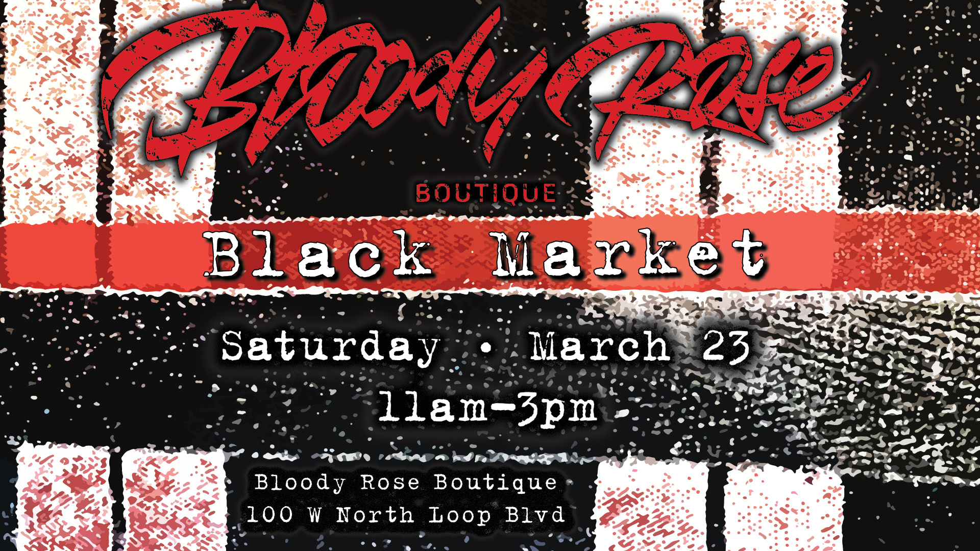 Bloody Rose March Black Market