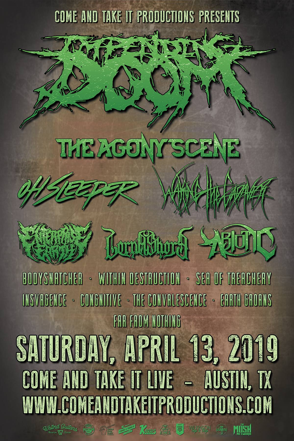 Texas Independence Fest 2019 featuring Impending Doom