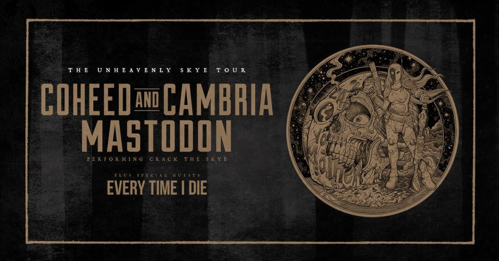 Coheed and Cambria + Mastodon with Every Time I Die