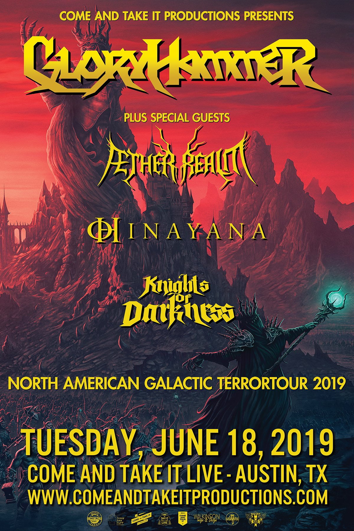 Gloryhammer, Æther Realm, Hinayana and more