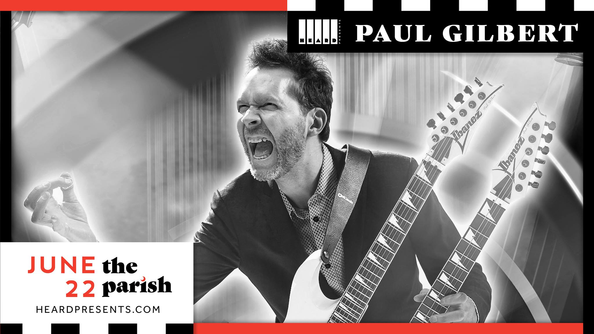 Paul Gilbert w/ Amplified Heat
