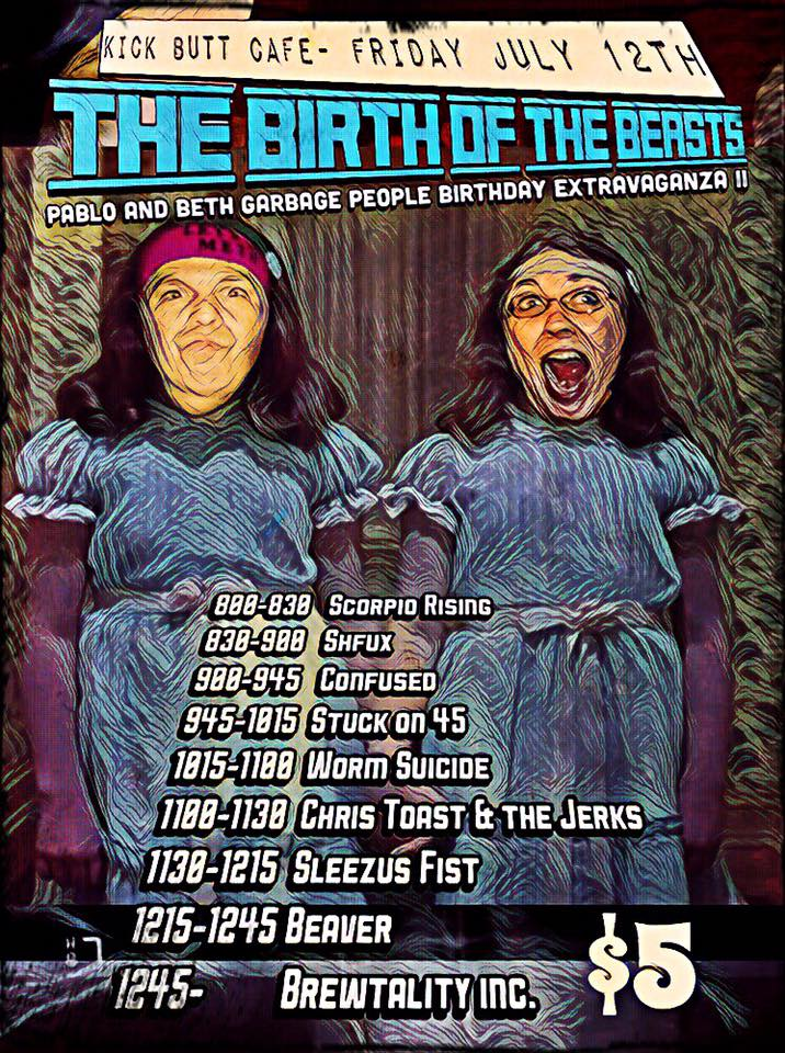 Birth of the Beasts -Pablo & Beth Birthday Extravaganza 2
