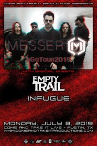 Messer, Empty Trail, Infugue and more