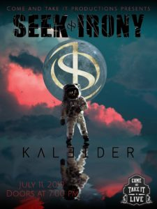 Seek Irony, Kaleider, The Matters