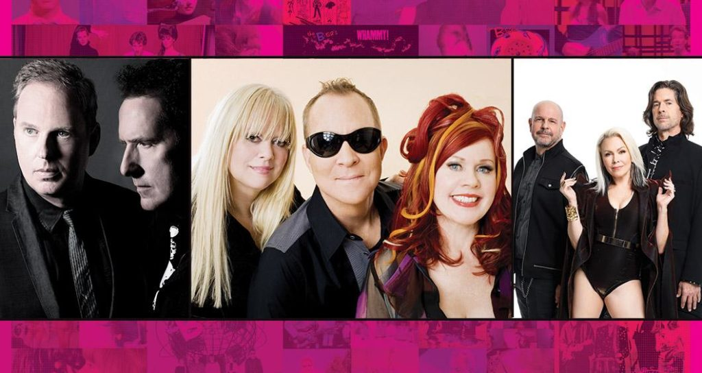 B-52s with very special guests OMD and Berlin