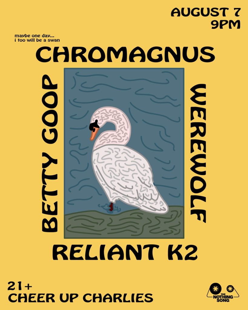 Chromagnus' Tour Kickoff with Betty Goop, Reliant K2, Werewolf