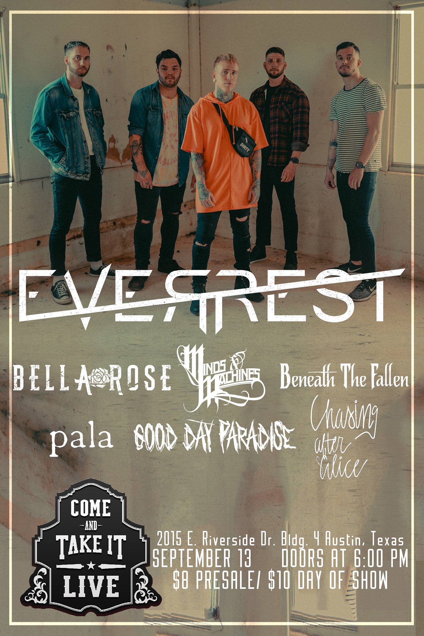 Everrest, Bella Rose, Minds & Machines and more