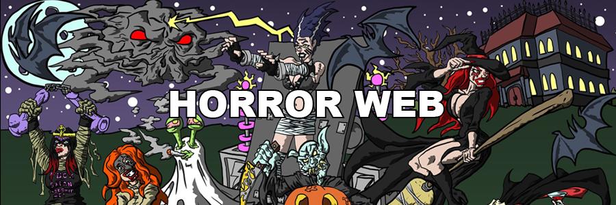 Horror Web Banner