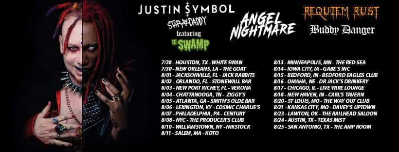 Justin Symbol ft DJ Swamp, Angel Nightmare, Requiem Rust, + more