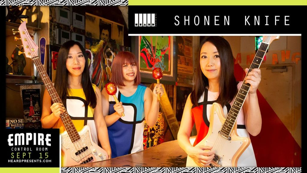 Shonen Knife with Me Like Bees at Empire Control Room