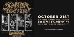Slaughter to Prevail at Empire Control Room