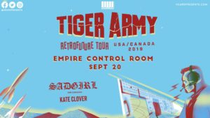 Tiger Army w/ SadGirl, Kate Clover at Empire