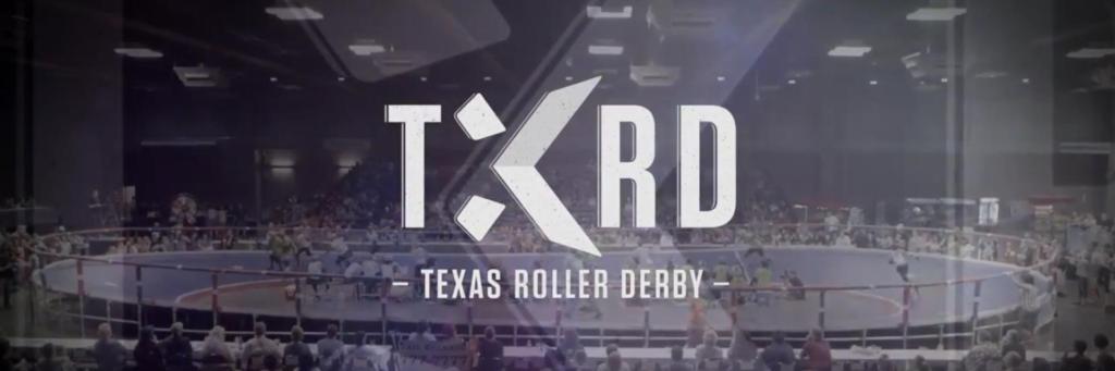 TXRD Texas Roller Derby Banner