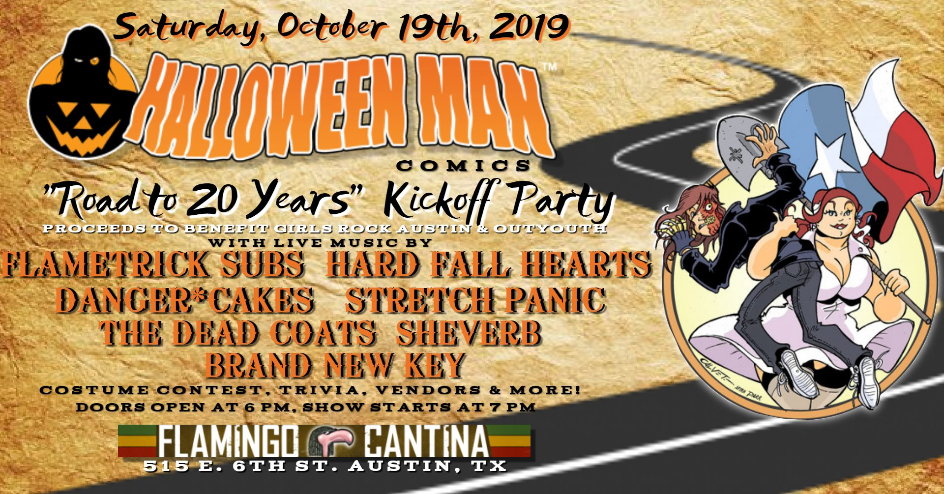 Halloween Man: Road to 20 Years Kickoff Party
