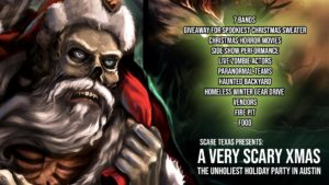 A Very Scary Xmas: The Unholiest Holiday Party in Austin