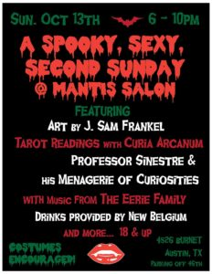 Spooky Sexy 2nd Sunday Salon