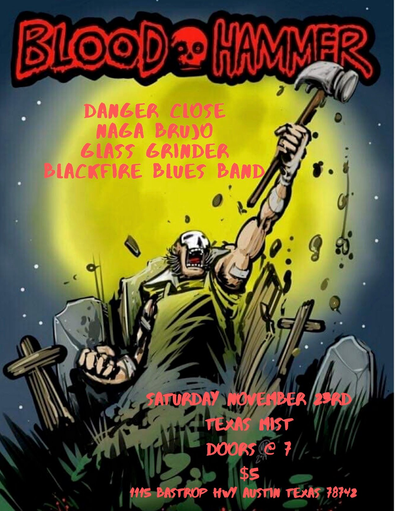 Blood Hammer And Friends Metal Night