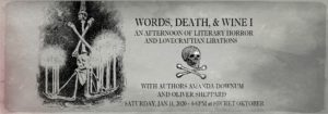 Words, Death, & Wine: Authors Amanda Downum and Oliver Sheppard