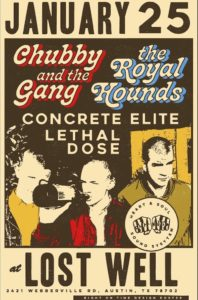 Chubby and the Gang UK The Royal Hounds NYC Concrete Elite Lethal Dose