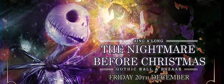 The Nightmare Before Christmas Gothic Ball And Bazaar