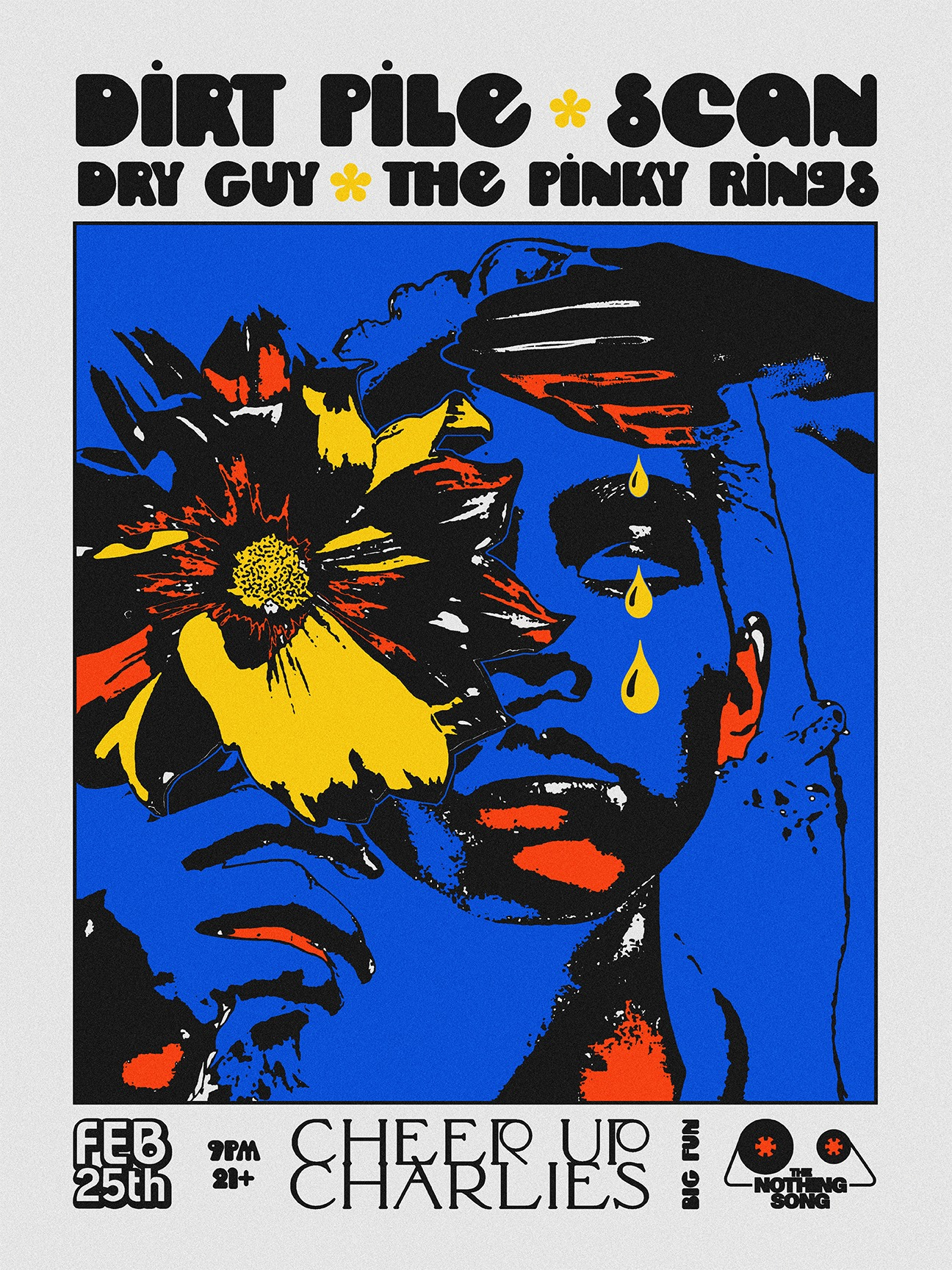 Dirt Pile / Scan / Dry Guy / The Pinky Rings