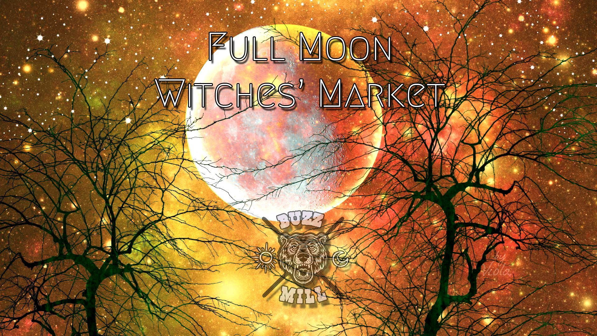Full Moon Witches' Market