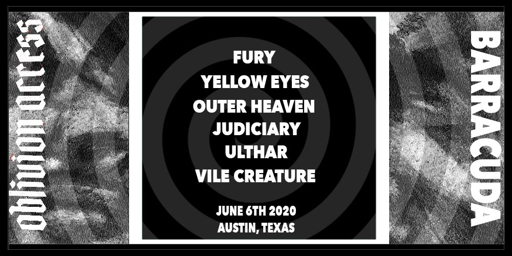Fury / Yellow Eyes / Judiciary / Outer Heaven & more