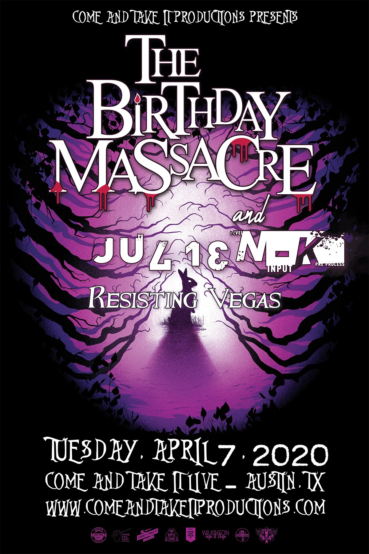 The Birthday Massacre, Julien-K & more
