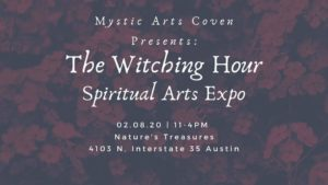 The Witching Hour: Spiritual Arts Expo