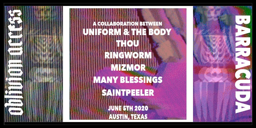 Uniform & the Body / Thou / Ringworm / Mizmor / & More