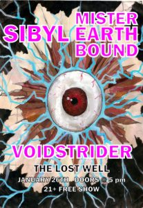 Voidstrider - Mister Earthbound - Sibyl