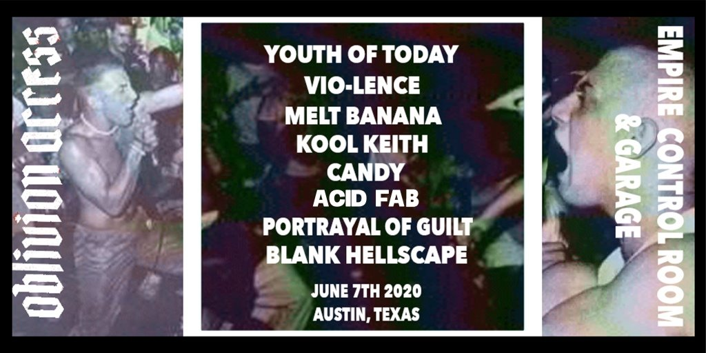 Youth of Today / Vio-Lence / Melt-Banana / Kool Keith / & MORE
