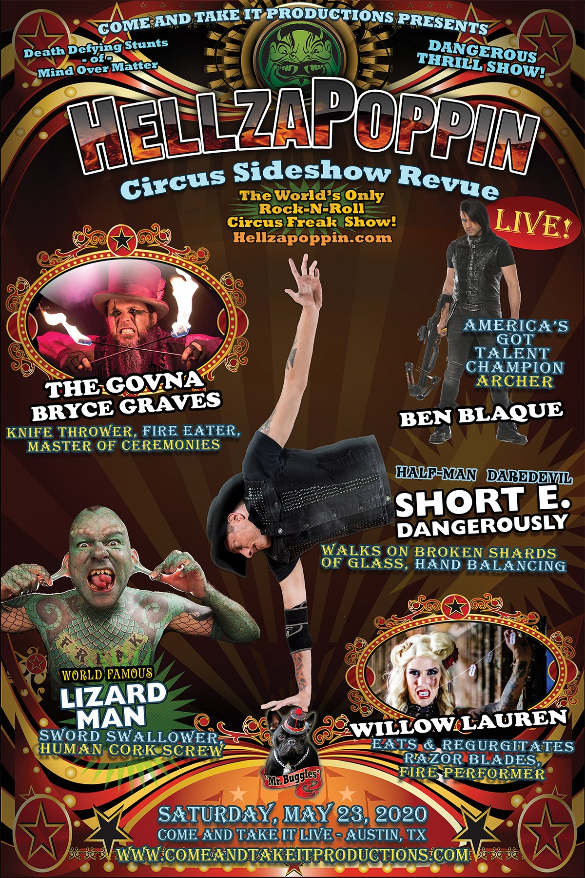 Hellzapoppin Circus Sideshow Review