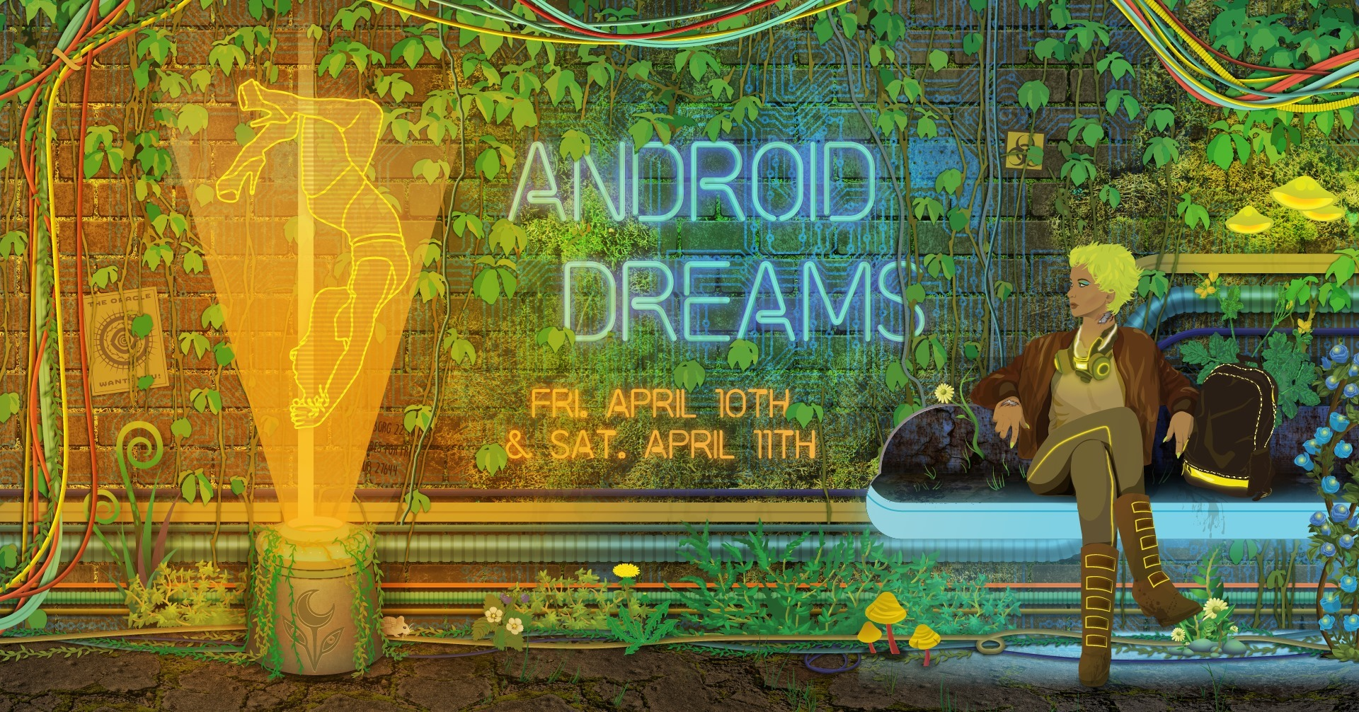 Android Dreams II: Cyberpunk Pole Dance + Burlesque